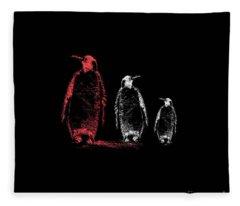 Look And Listen Fleece Blanket