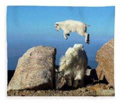 Look Ma, I'm Flying Fleece Blanket