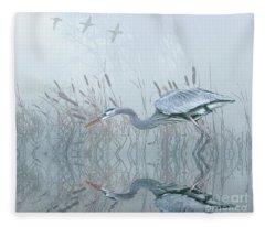 Looking For An Early Catch Fleece Blanket