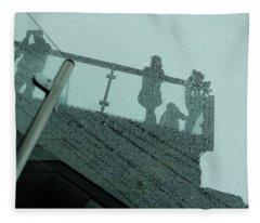 Looking Glass Fleece Blanket