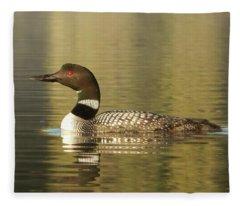 Loon Fleece Blanket