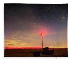 Lost In Space Fleece Blanket