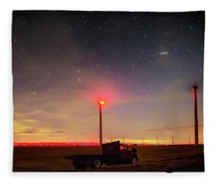Lost In Space Fleece Blanket