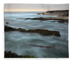 Lost In The Mist Fleece Blanket