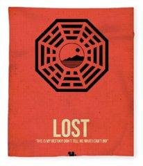 Lost Fleece Blanket