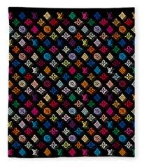 Louis Vuitton Monogram-4 Fleece Blanket