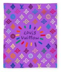 Louis Vuitton Monogram-8 Fleece Blanket