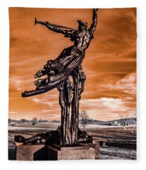 Louisiana Monument Fleece Blanket