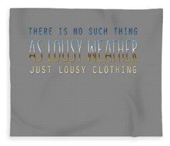 Lousy Clothing Fleece Blanket