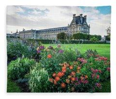 Louvre Fleece Blanket