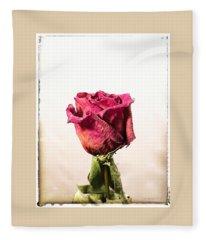 Love After Death Fleece Blanket