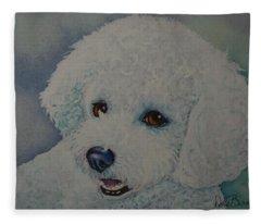 Lovely Lacy Fleece Blanket