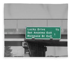 Lucky Drive California Fleece Blanket