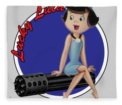 Lucky Lula Fleece Blanket