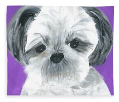 Lulu Fleece Blanket