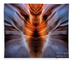 Luminous Canyon Fleece Blanket