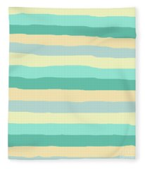 lumpy or bumpy lines abstract and summer colorful - QAB271 Fleece Blanket