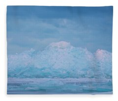 Mackinaw City Ice Formations 2161802 Fleece Blanket