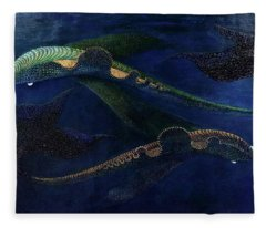 Magic Fish Fleece Blanket