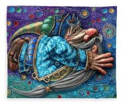 Magic Flight#2 Fleece Blanket