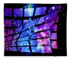 Magic Window To Space Fleece Blanket