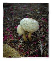 Magical Mushrooms Fleece Blanket