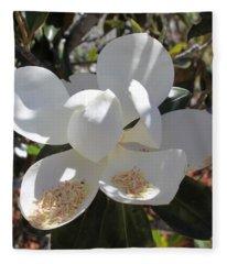 Magnificent Magnolia Fleece Blanket