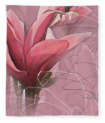Magnolia Musings Fleece Blanket