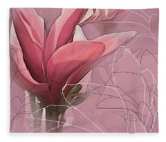 Magnolia Musings Fleece Blanket