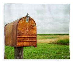 Mailbox  Fleece Blanket