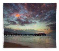 Malibu Pier IIi Fleece Blanket