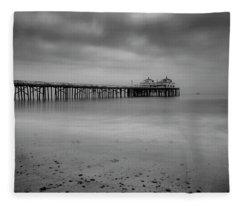 Malibu Pier Fleece Blanket