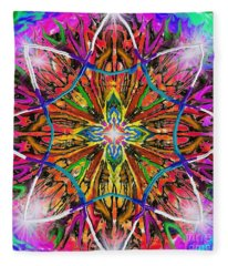Mandala 12 11 2018 Fleece Blanket