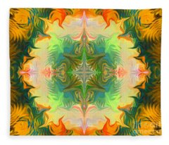 Mandala 12 8 2018 Fleece Blanket