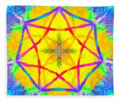 Mandala 12 9 2018 Fleece Blanket