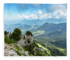 Mannlsteig, Berchtesgadener Land Fleece Blanket