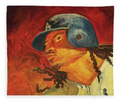 Manny Ramirez Fleece Blanket