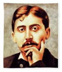 Marcel Proust, Philosopher Fleece Blanket