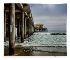 Mariasol On The Pier 2 Fleece Blanket