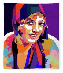 Marion Davies Fleece Blanket