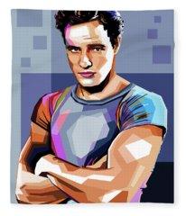 Marlon Brando Fleece Blanket