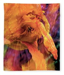 Marmalade Bloom Fleece Blanket