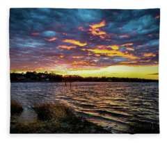Marmalade Skies Fleece Blanket