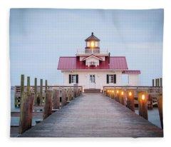 Marsh Light Fleece Blanket