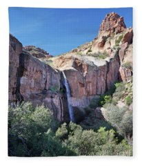 Massacre Trail Waterfall Fleece Blanket