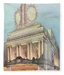 Mastbaum Theatre Fleece Blanket