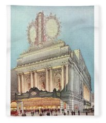 Mastbaum Theatre Fleece Blanket