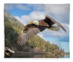 Master Of The Skies Fleece Blanket