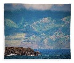 Maui Fisherman Fleece Blanket
