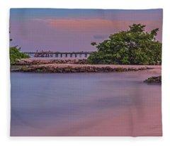 Mayan Shore Fleece Blanket